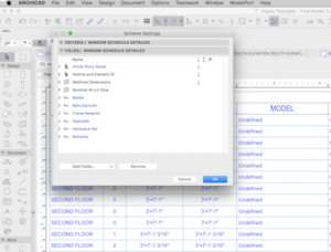 ARCHICAD Standards: Defining Building Schedules