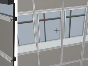 Create Custom Curtain Wall Components @ Online Training