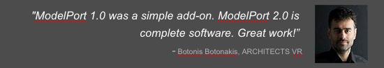 ModelPort is complete software