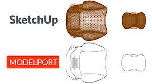 SketchUp ModelPort Image Comparison