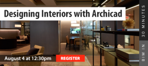 Designing Interiors with Archicad